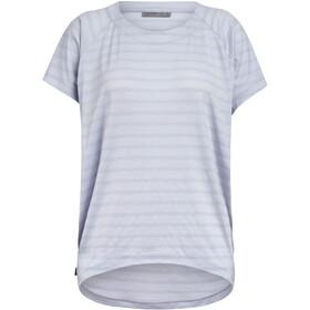 Icebreaker Elowen T-shirt Col ras-du-cou Femme, mercury